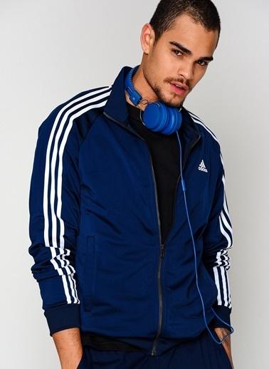 adidas Fermuarlı  Sweatshirt Lacivert